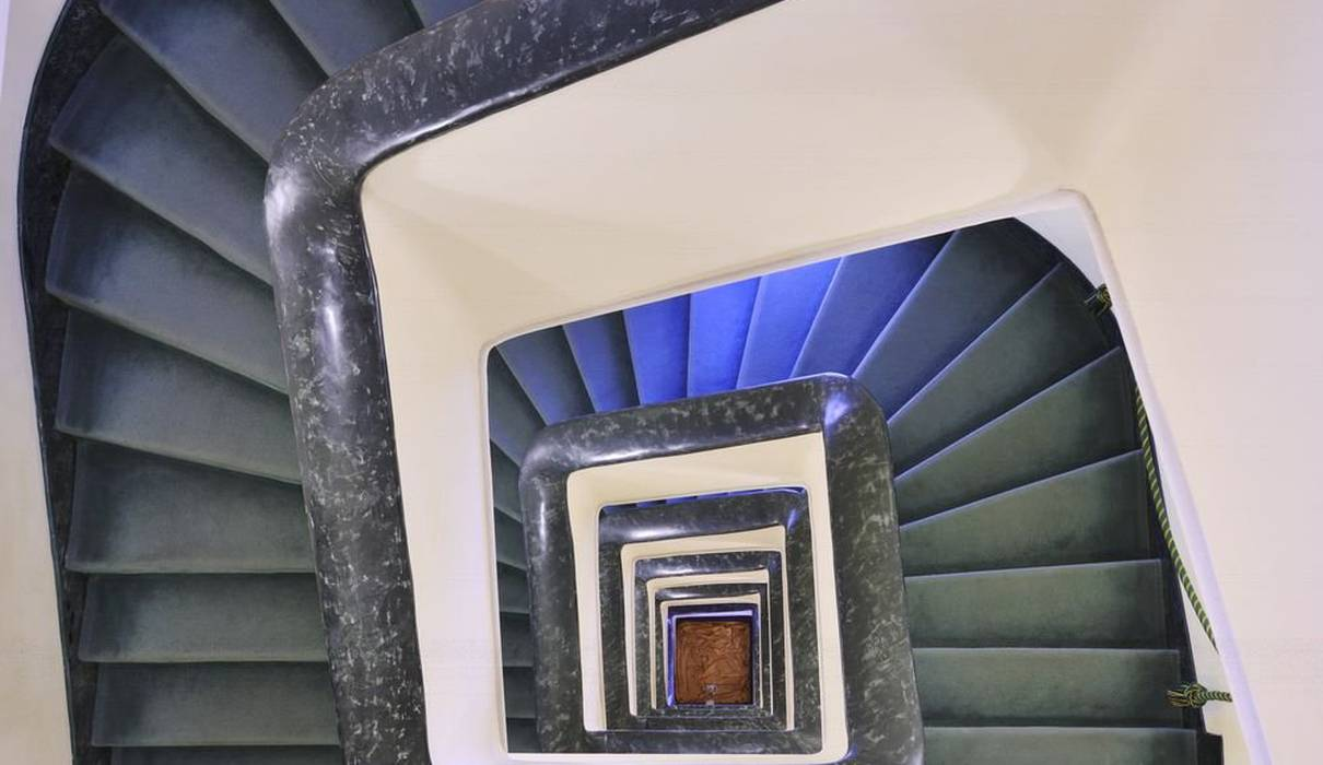 Stairs Mecenate Palace Hotel Rome