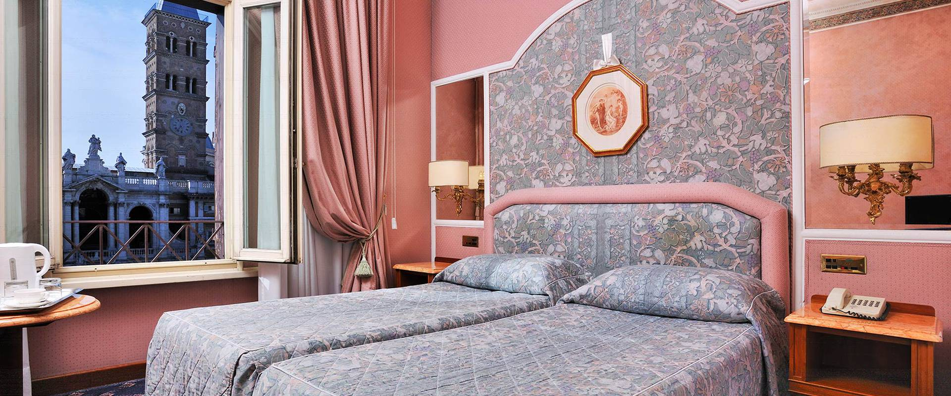 PERFECTLY SOUNDPROOF Mecenate Palace Hotel Rome