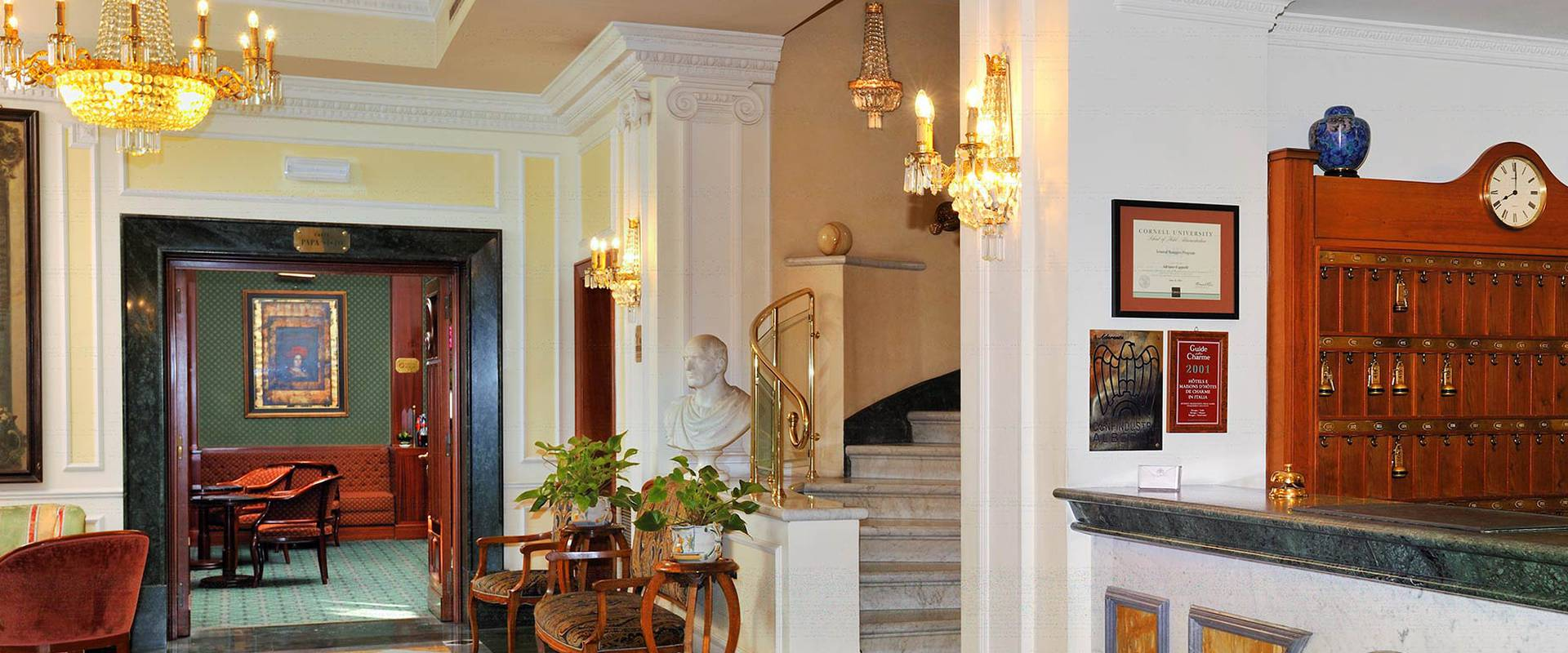 WELCOME TO MECENATE PALACE HOTEL Mecenate Palace Hotel Rome