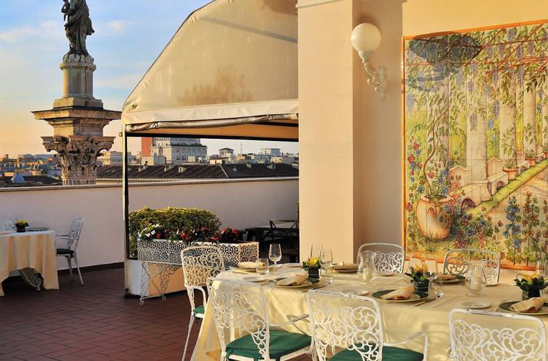 Mecenate Palace Hotel Dining Rome Official Website