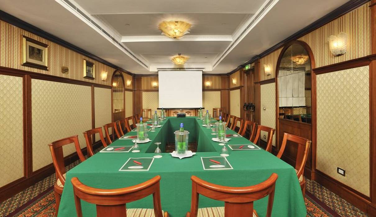 Meeting Room Mecenate Palace Hotel Rome