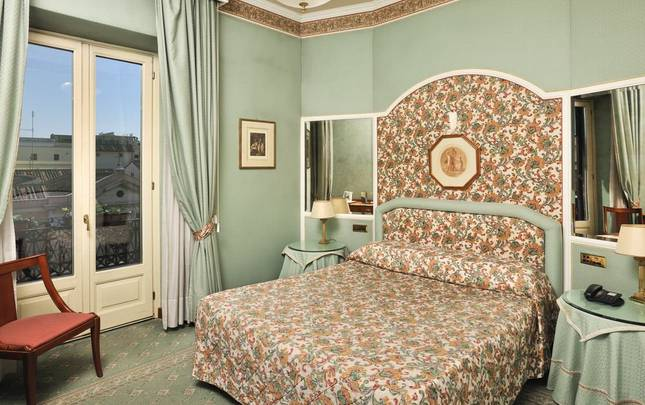 SUPERIOR DOUBLE ROOM Mecenate Palace Hotel Rome
