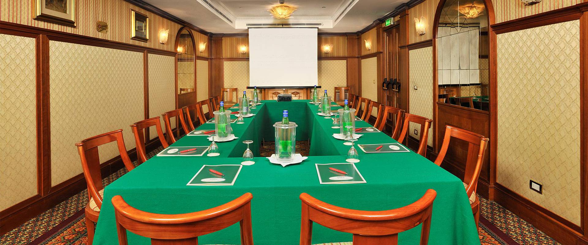 LIBERIANA MEETING ROOM Mecenate Palace Hotel Rome