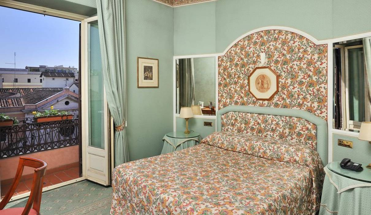 Superior ROom Mecenate Palace Hotel Rome